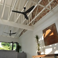 Haiku ceiling fan in Black Matrix Composite