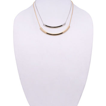 Shiny Jewelry Gift Stylish New Arrival Fashion Accessory Ladies Double-layered Necklace [4956914948]