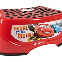 "Cars Step N Glow ""Pedal to the Medal"" Step Stool"