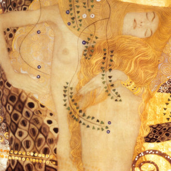 Sea Serpent, c.1907 Art Print by Gustav Klimt at Art.com