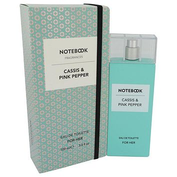 Notebook Cassis & Pink Pepper Perfume By Selectiva SPA Eau De Toilette Spray FOR WOMEN