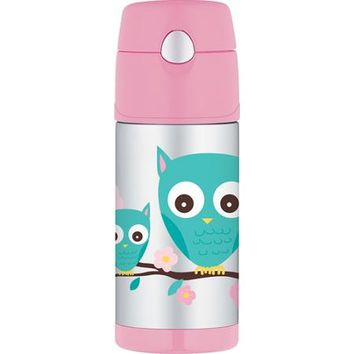 Thermos Funtainer Owl Bottle, 12 oz - Walmart.com
