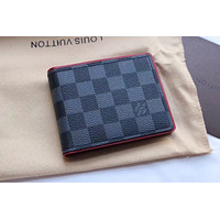 LV Louis Vuitton MEN'S Damier Graphite CANVAS Barzza WALLET