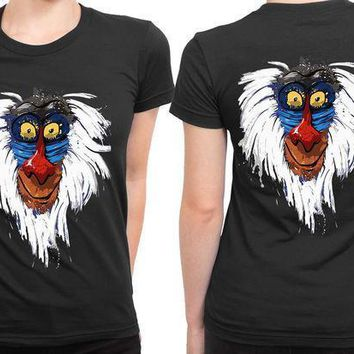 The Lion King Rafiki 2 Sided Womens T Shirt