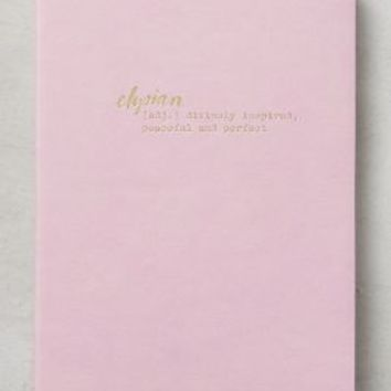 Bon Mot Journal by Anthropologie