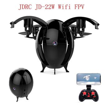 FLYING EGGS 6-Axis 720P WIFI FPV w/ 0.3MP Camera, Altitude Hold, Foldable RC Quadcopter