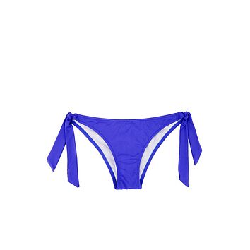 Sporty Tie Side Bikini Bottom - Ultra Marine