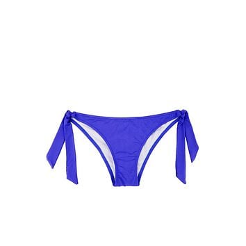 Sporty Tie Side Bikini Bottom - Ultra Marine Blue
