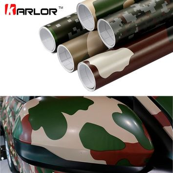 30cm*100cm Camouflage Vinyl PVC Car Sticker Wrap Film Digital Woodland Army Military Green Camo Desert Decal For Auto Motorcycle