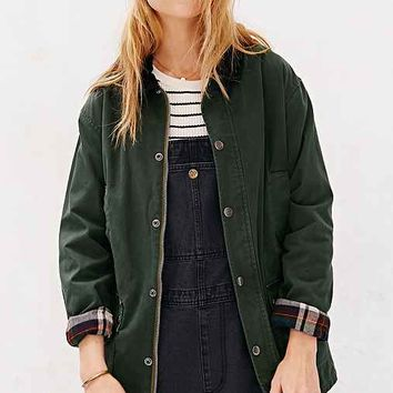 BDG Waxed Hunting Jacket- Green