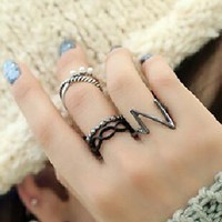 New Arrival Gift Jewelry Shiny Stylish Vintage Pearls Ring [6586207111]