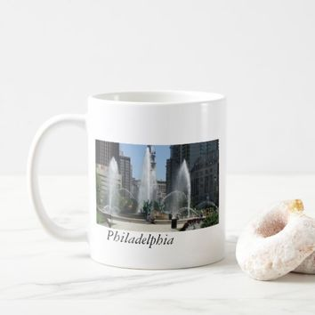 Fountain in Philadelphia Coffee Mug