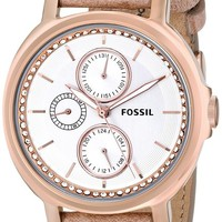 Fossil Women's ES3358 Chelsey Multifunction Leather Watch