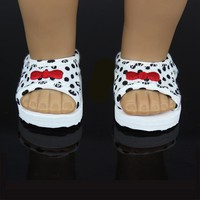 "Fashion Shoes For 18 "" American Girl Doll 45cm Doll Accessories"