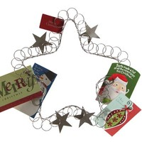 Star Wreath Card Holder
