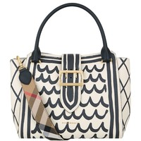 Burberry Medium Buckle Tote Bag | Harrods.com