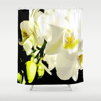 Orchid Flower - Imagine Photography Shower Curtain by Chanelle Lynn
