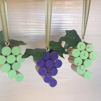 Wine Cork Ornament, Wine Cork, Wine Charm, Wine, Christmas Ornament, Christmas, Stocking Stuffer, Wine Cork Decor,