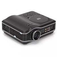 Koolertron Portable Projector 800x600 Home Theater EVD DVD MP4 RMVB Player w SD USB /S2