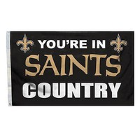 New Orleans Saints COUNTRY 3x5 Outdoor Flag Banner NFL Football