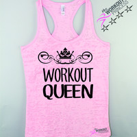 Workout Queen Cool Fitness Tank