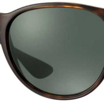 Ray Ban Erika Sunglasses Light Havana (Tortoise) G-15 Green RB4171 710/71