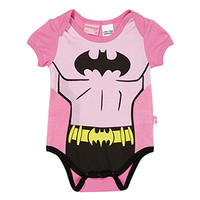 Baby Girls Batman Romper