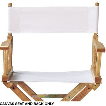Canvas Seat and Back - Director's Chair - Folding Chairs - Director's Chair | HomeDecorators.com