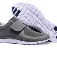 """NIKE"" Trending Grey Fashion Casual Running Sports Shoes"