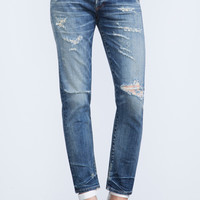 Emerson Slim Fit Boyfriend in Rip It Up - Denim - CITIZENS of HUMANITY