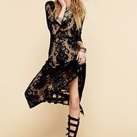 For Love & Lemons Womens San Marcos Maxi Dress