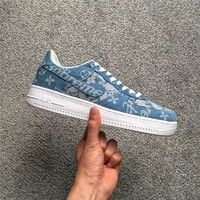 Supreme x LV x Nike Air Force 1 AF1 Blue Sneaker Shoe Size 36-45