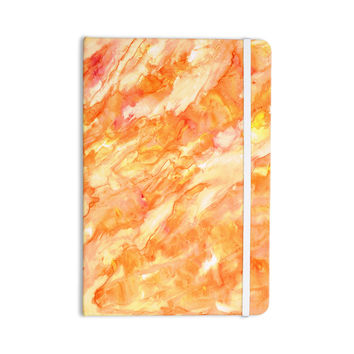 "Rosie Brown ""Autumn"" Orange Paint Everything Notebook"