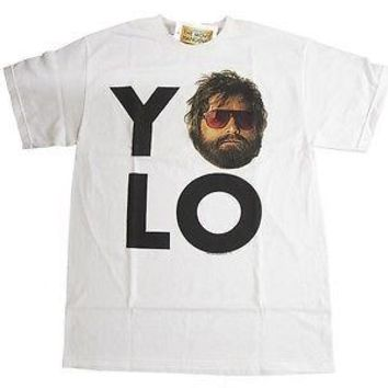 The Hangover Movie YO LO Alan Men Adult T-shirt Officially Licensed