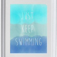 Just Keep Swimming, Finding Nemo, Dory, Disney quote