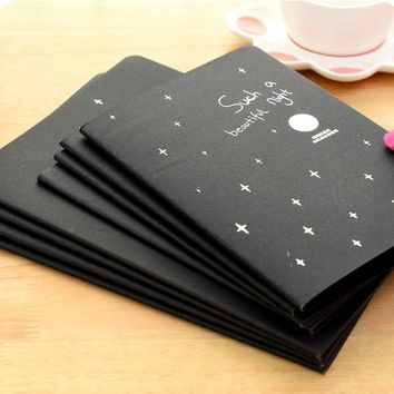 2 Sketchbook Notepad Soft Graffiti Drawing Paper Office Supplies Sketch Stationery Black Paper Notebook Painting Book