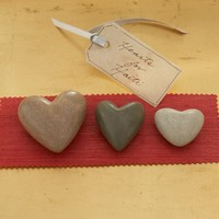 Hearts for Haiti, Set of 3 | Pottery Barn