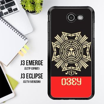 Obey Clothing O0726 Samsung Galaxy J3 Emerge, J3 Eclipse , Amp Prime 2, Express Prime 2 2017 SM J327 Case
