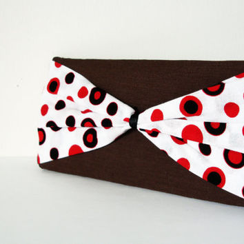 Bow Clutch Purse,Red bow, Small purse
