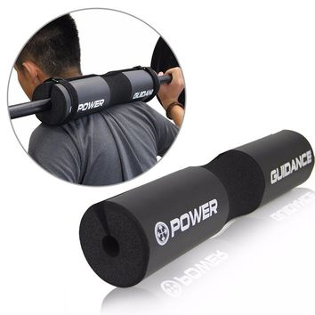 Barbell Squat Pad Neck Shoulder Back Protector 45*9cm Weight Lifting Cushion Barbell Support Tool