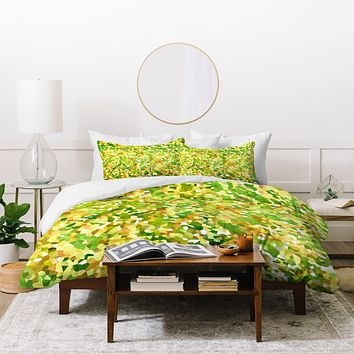 Rosie Brown Botanical Garden Duvet Cover