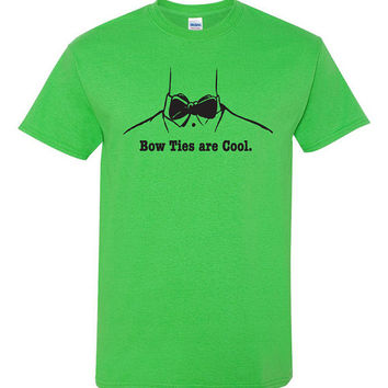 Bow ties are cool tshirt. bow tie pride. bow tie tshirt. cartoon tshirt. bow tie tee. bow tie clothing. hipster tshirt. swag. TH-101