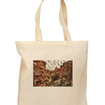 Colorado Painted Rocks Grocery Tote Bag