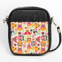 Owl Pattern Crossbody