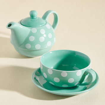 Spots of Tea Set | Mod Retro Vintage Kitchen | ModCloth.com