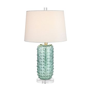 Caicos 1 Light Table Lamp In Green