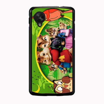 alvin and the chipmunks and the chipettes 3cc22bb9-f5b9-4735-b301-bfa78c6e4e67 FOR NEXUS 5 CASE *PS*