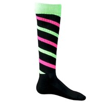CYCLONE STRIPE Knee High Socks Soccer Socks - Softball Socks - CrossFit Socks