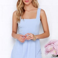 Chic Shenanigans Periwinkle Dress