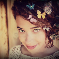 Butterfly Hair Pins Made to Order for your Color preferences SINGLE